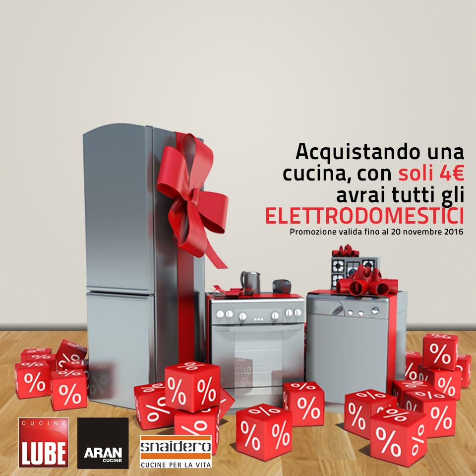 Promozione elettrodomestici a 4 euro