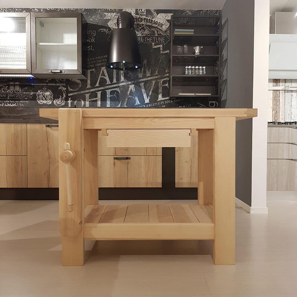 Banco lavoro cucina in massello - Belvisi Mobili S.r.l. ...