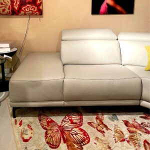 divano pelle relax bianco outlet belvisi